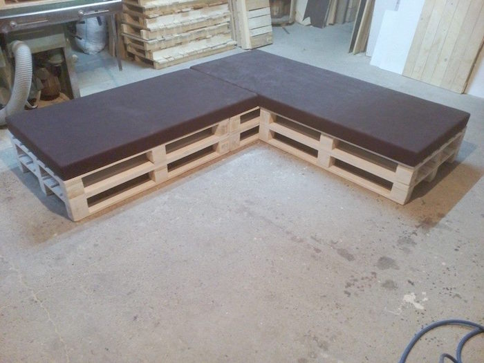 52 id es pour fabriquer votre meuble de jardin en palette - Canape jardin pas cher ...