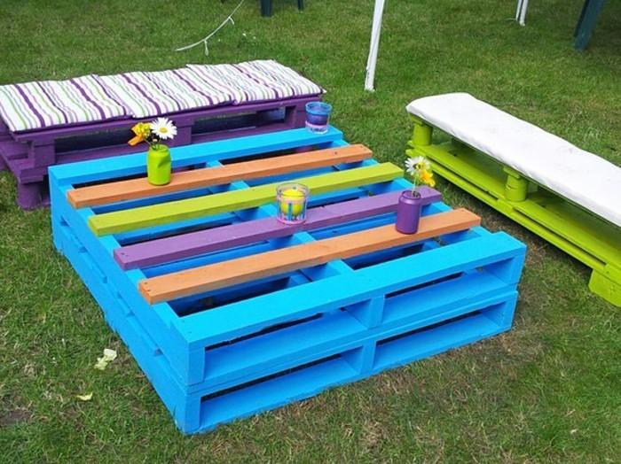 52 idées pour fabriquer votre meuble de jardin en palette - Archzine.fr