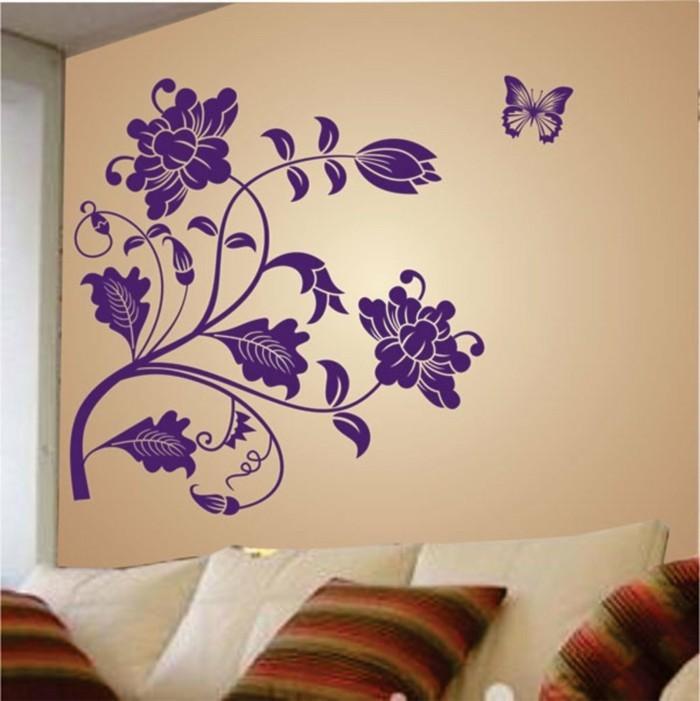 decoration murale geante id es conseils et combinaisons. Black Bedroom Furniture Sets. Home Design Ideas