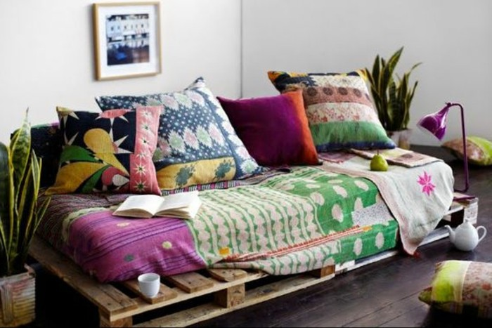 Comment fabriquer un canap en palette tuto et 60 super for Billige sofas gebraucht