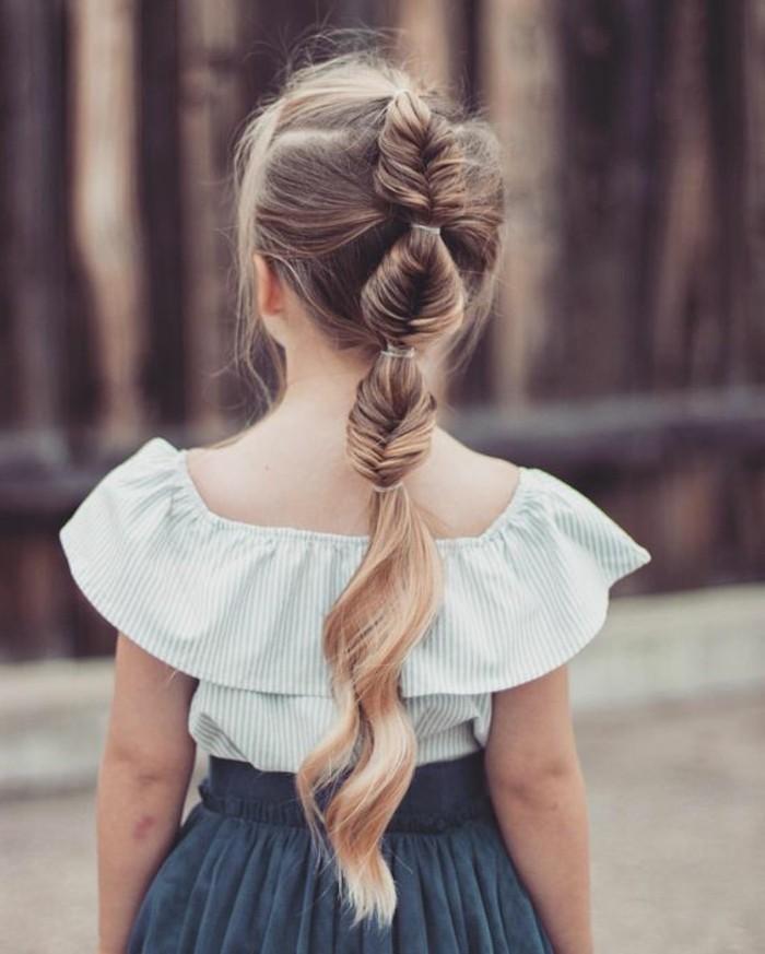 tresse-epi-de-ble-pour-des-cheveux-longs-formidable-suggestion-coiffure-petite-fille