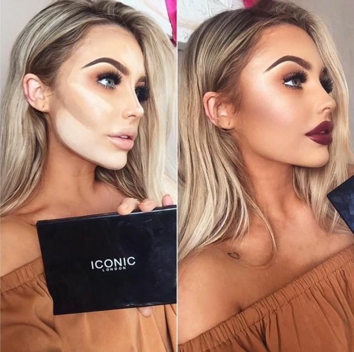 tuto-maquillage-contouring-iconic-cosmetics