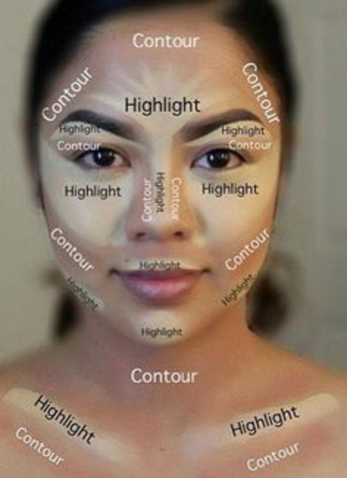 Super Trouvez ici plusieurs propositions pour un tuto maquillage  ZK38