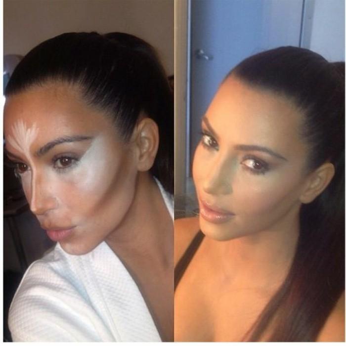 tuto-maquillage-contouring-kim-kardashian