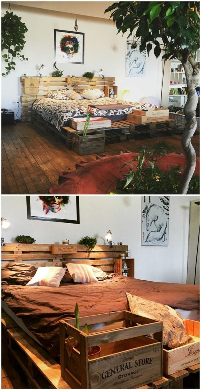 un-magnifique-lit-en-palette-situe-au-milieu-d-un-decor-tres-artistique-tete-de-lit-en-palette