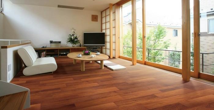 le parquet flottant 50 id es comment le r aliser. Black Bedroom Furniture Sets. Home Design Ideas