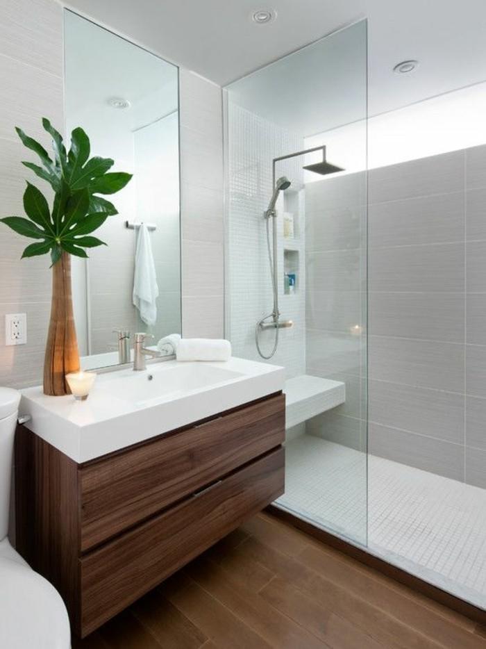 vasque-a-poser-rectangulaire-deco-avec-fleur-sol-en-bois