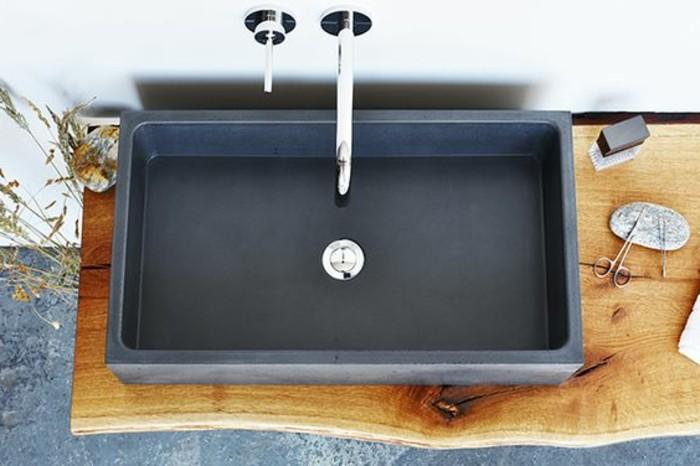 vasque a poser gris vasque-a-poser-rectangulaire-grande-vasque-lavabo-gris-