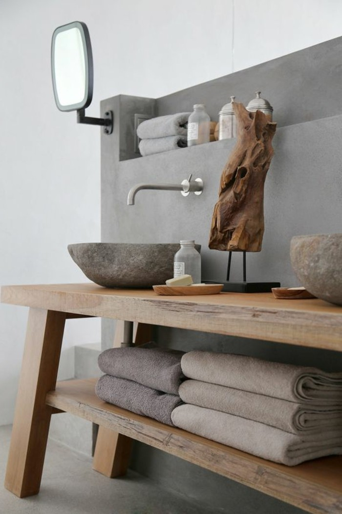 109 id es magnifiques pour votre vasque salle de bain. Black Bedroom Furniture Sets. Home Design Ideas