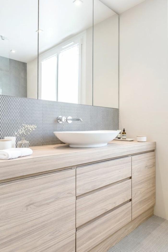 vasque-salle-de-bain-bois-miroir-simple-clair