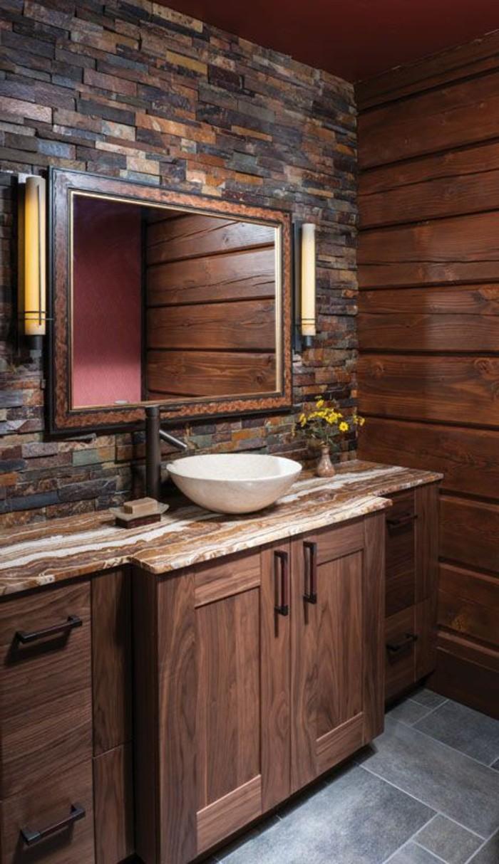 Salle De Bain Simple Et Moderne ~ 109 id es magnifiques pour votre vasque salle de bain archzine fr