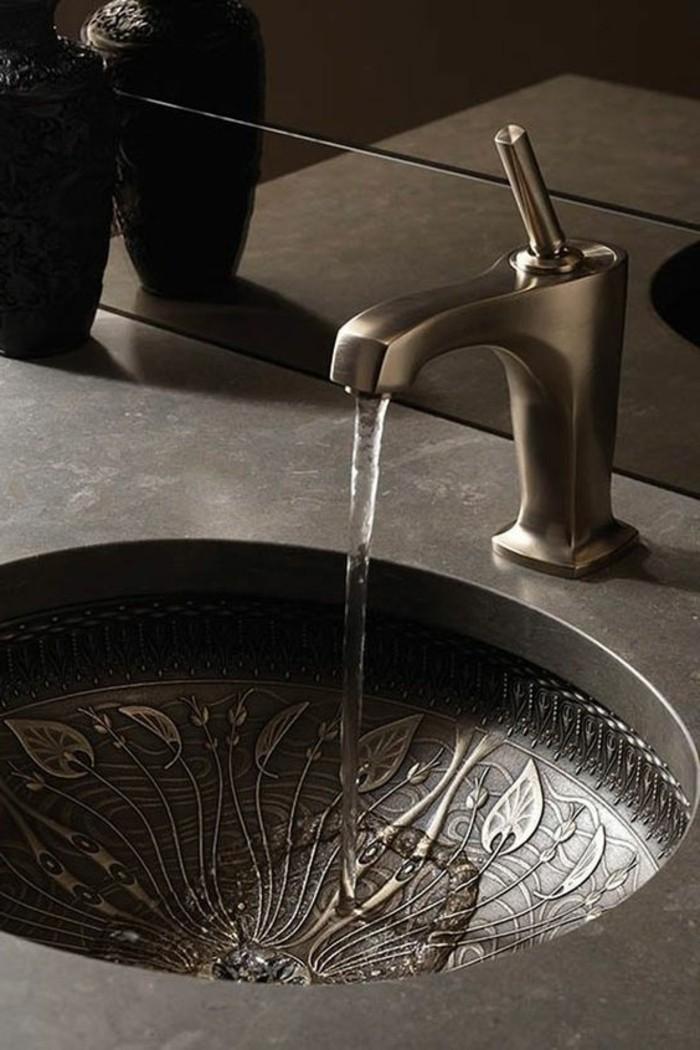 vasque-salle-de-bain-element-gris-colore-simple-cher