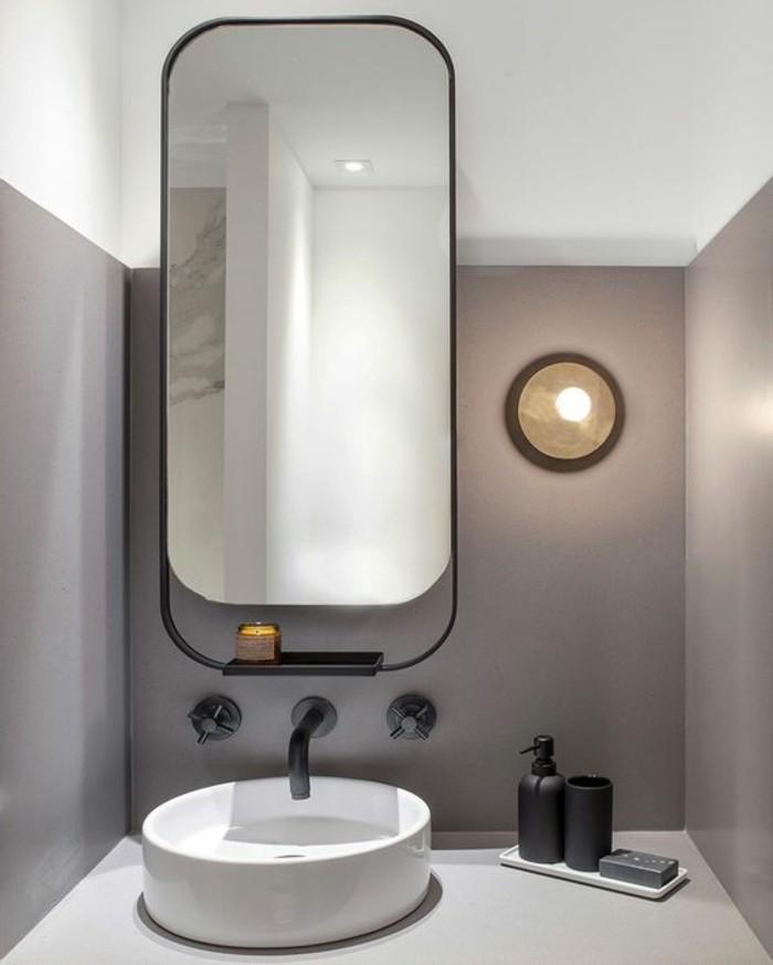 109 id es magnifiques pour votre vasque salle de bain for Grand miroir sol