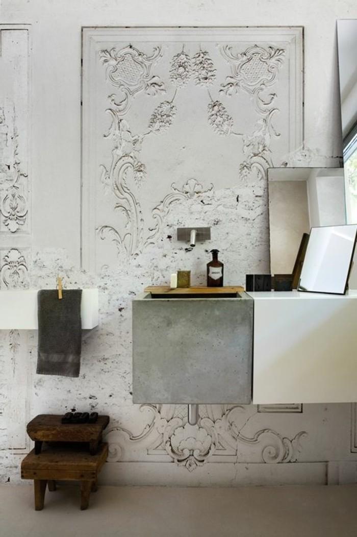 vasque-salle-de-bain-gypse-bois-moderne-chic