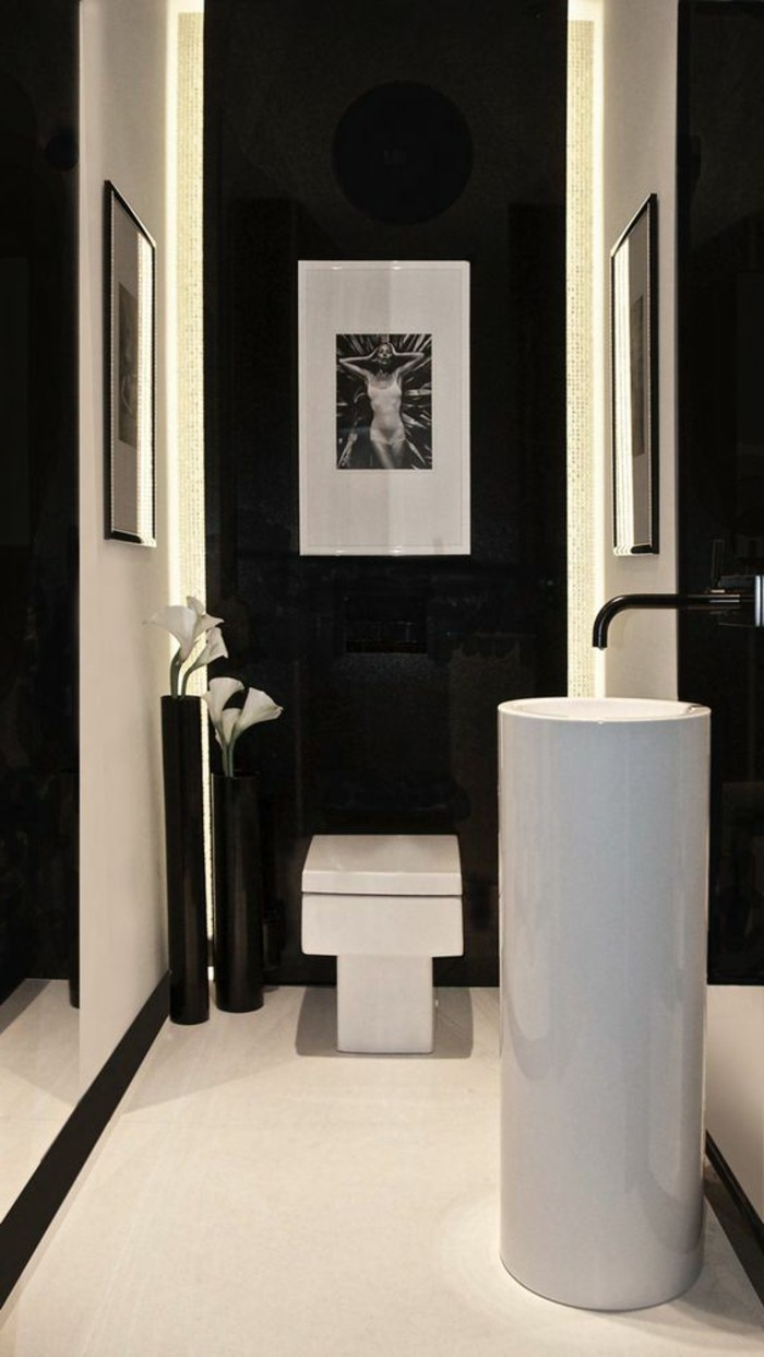vasque-salle-de-bain-haute-blanche-noir-mur