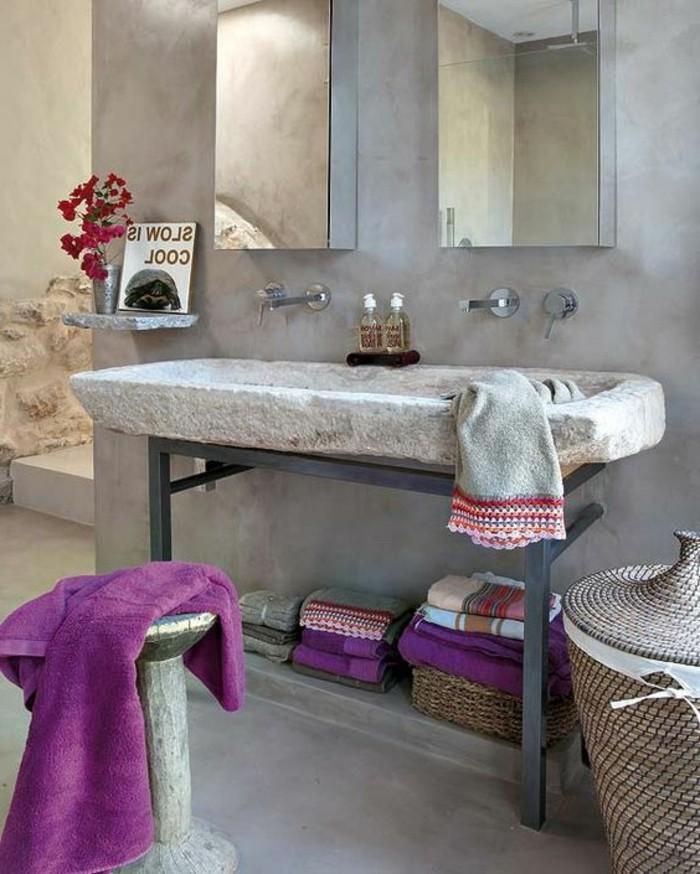 vasque-salle-de-bain-lilas-marbre-miroir-carreau-sol