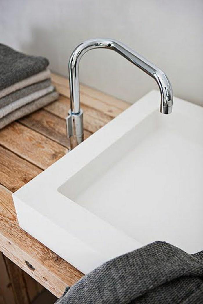 vasque-salle-de-bain-marbre-style-moderne-simple-bois