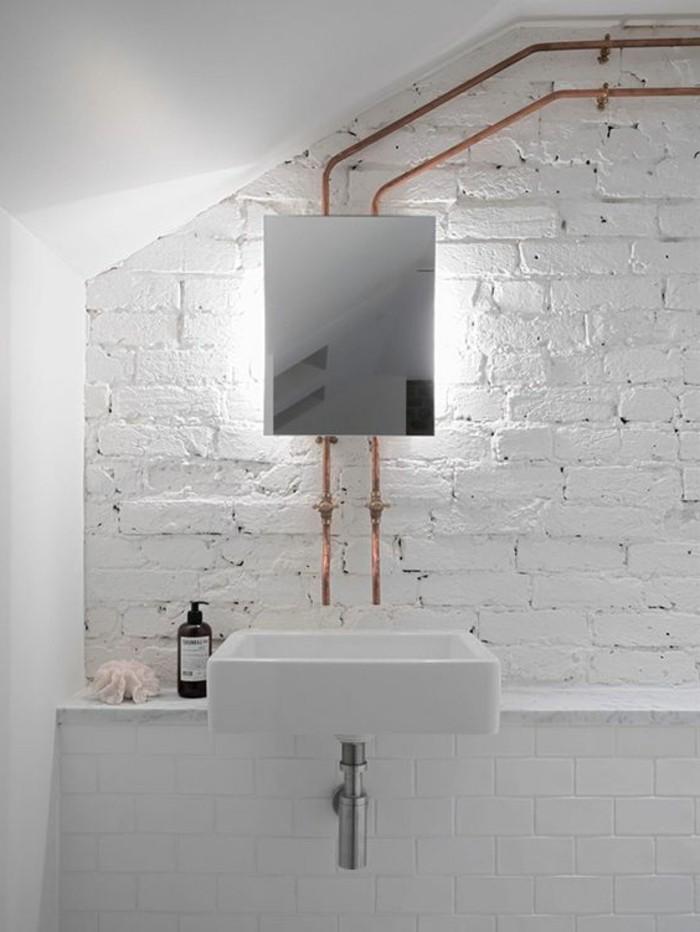 vasque-salle-de-bain-miroir-blanc-bois-pierre