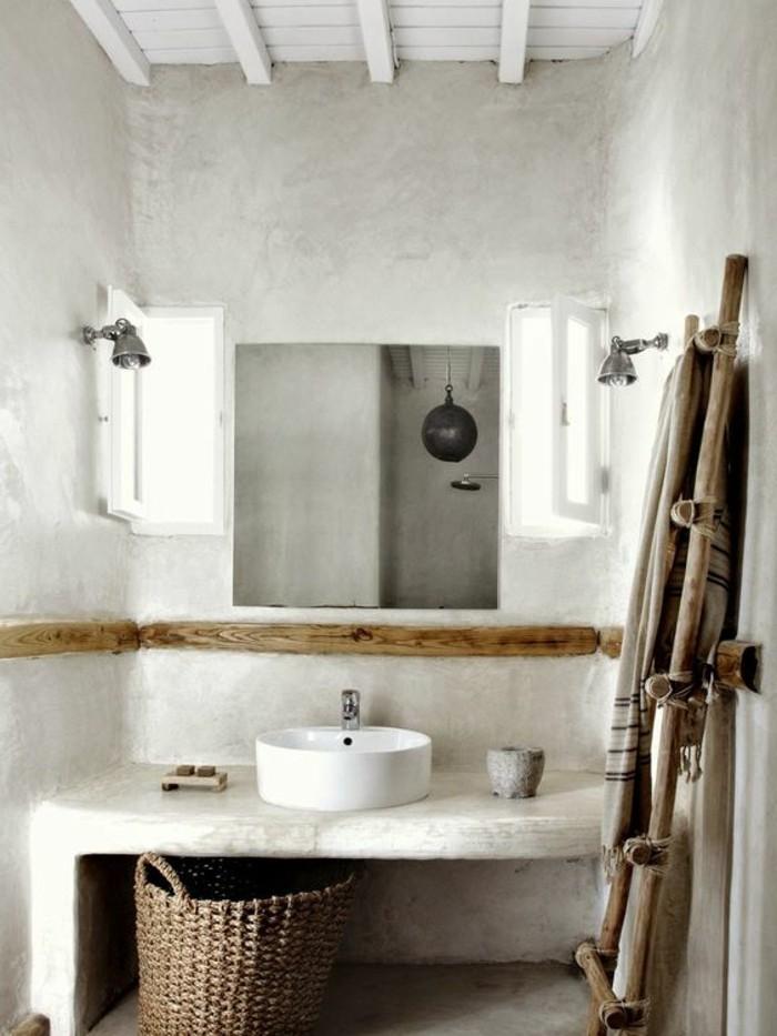 vasque-salle-de-bain-miroir-blanc-bois