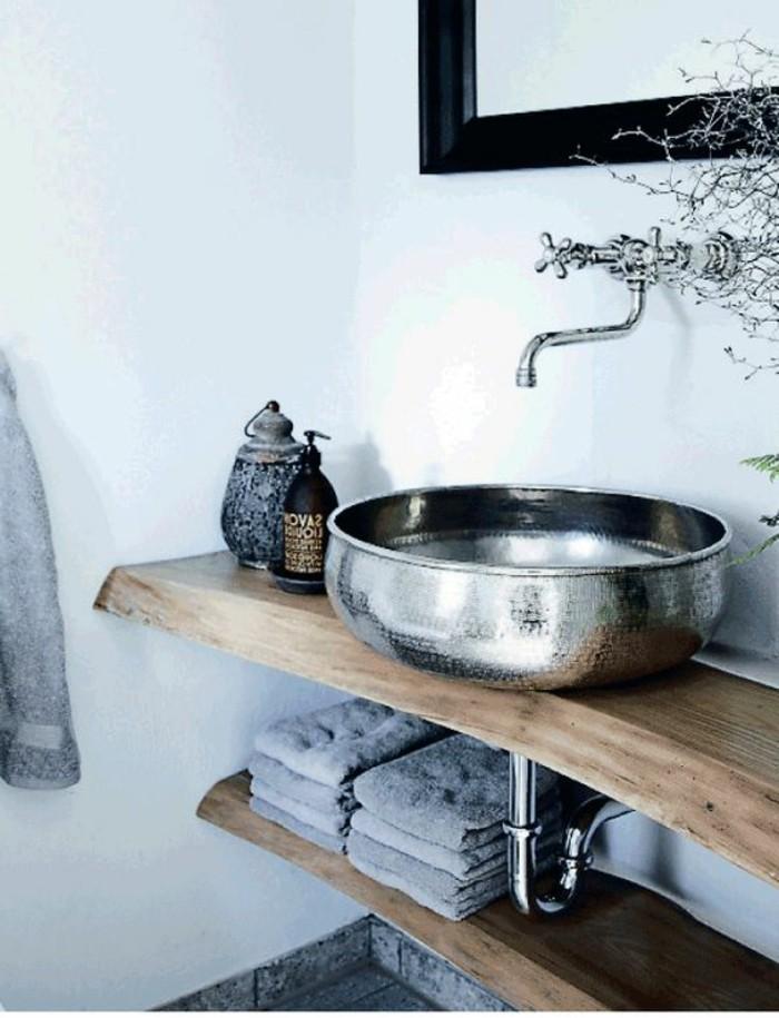 vasque-salle-de-bain-miroir-bois-rayon-simple