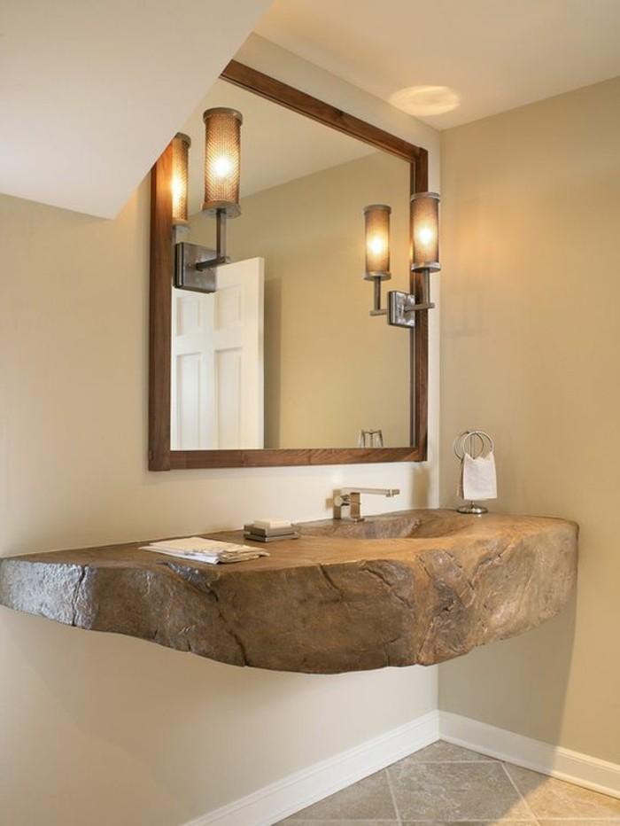 vasque-salle-de-bain-miroir-deux-lampes-commode-chic