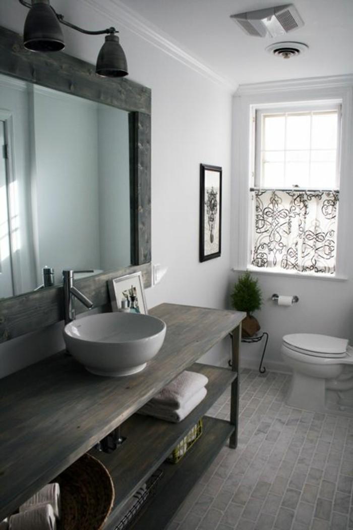 Fenetre Salle De Bain Bois : 109 idées magnifiques pour votre vasque salle de bain