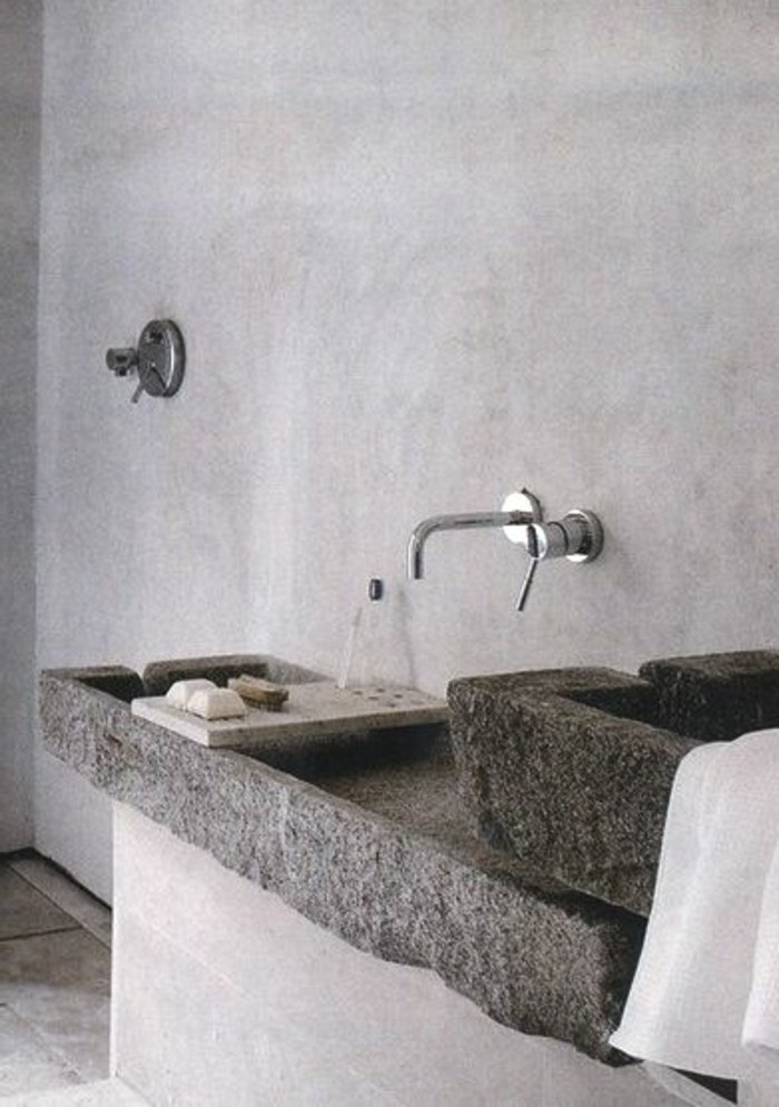 vasque-salle-de-bain-pierre-mur-gris-simple