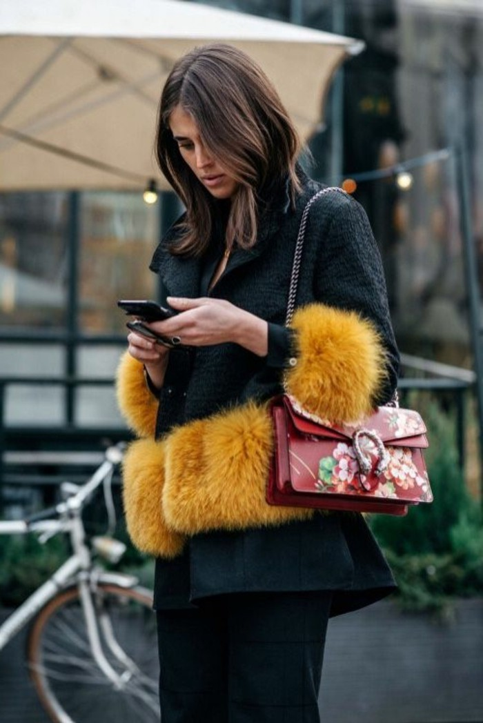 0-coloration-de-cheveux-chocolat-idee-coiffure-coupe-courte-veste-noir