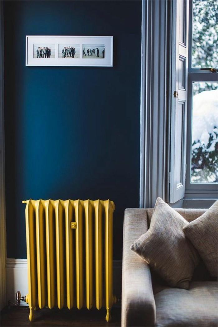 Couleur de peinture bleu photos de conception de maison for Couleurs de peinture pour salon