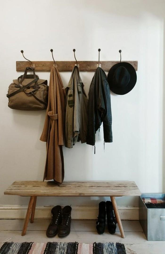 Porte manteau couloir plus de 60 photos pour vous for Porte revue salon de coiffure