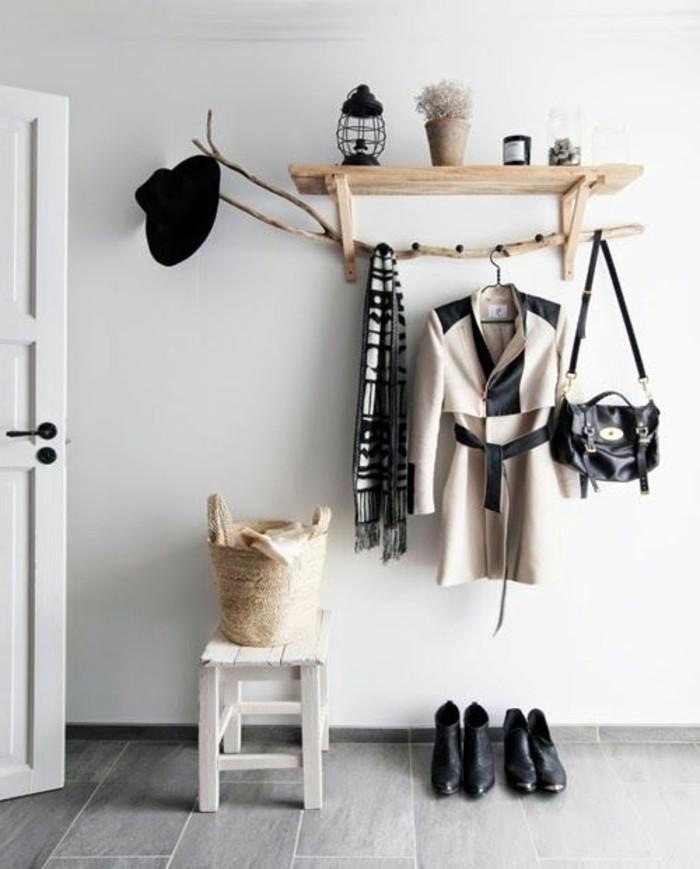 Porte-manteau couloir - plus de 60 photos pour vous!