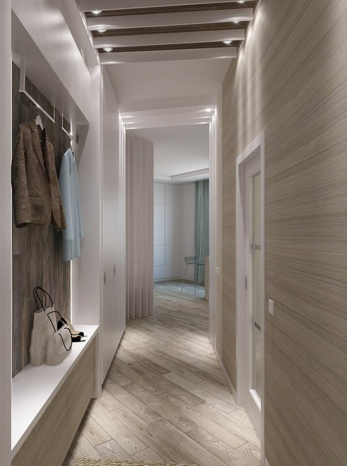 d corer un couloir plus de 70 id es en photos pour vous. Black Bedroom Furniture Sets. Home Design Ideas
