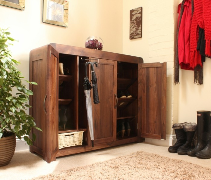 meuble chaussures plus de 50 exemples en photos pour vous. Black Bedroom Furniture Sets. Home Design Ideas
