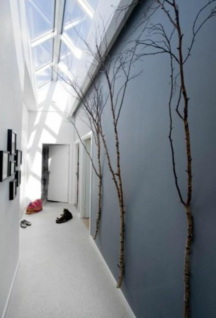 D co couloir voil 50 id es sur lesquelles vous pouvez - Idee deco mur gris ...