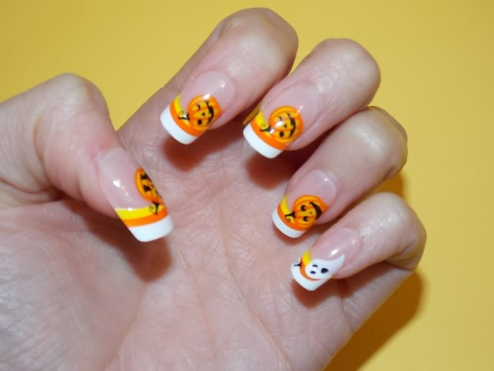 Déco ongle halloween
