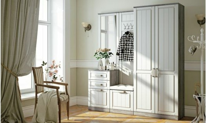 47-meuble-chaussure-une-garde-robe-blanche-un-rideau-gris