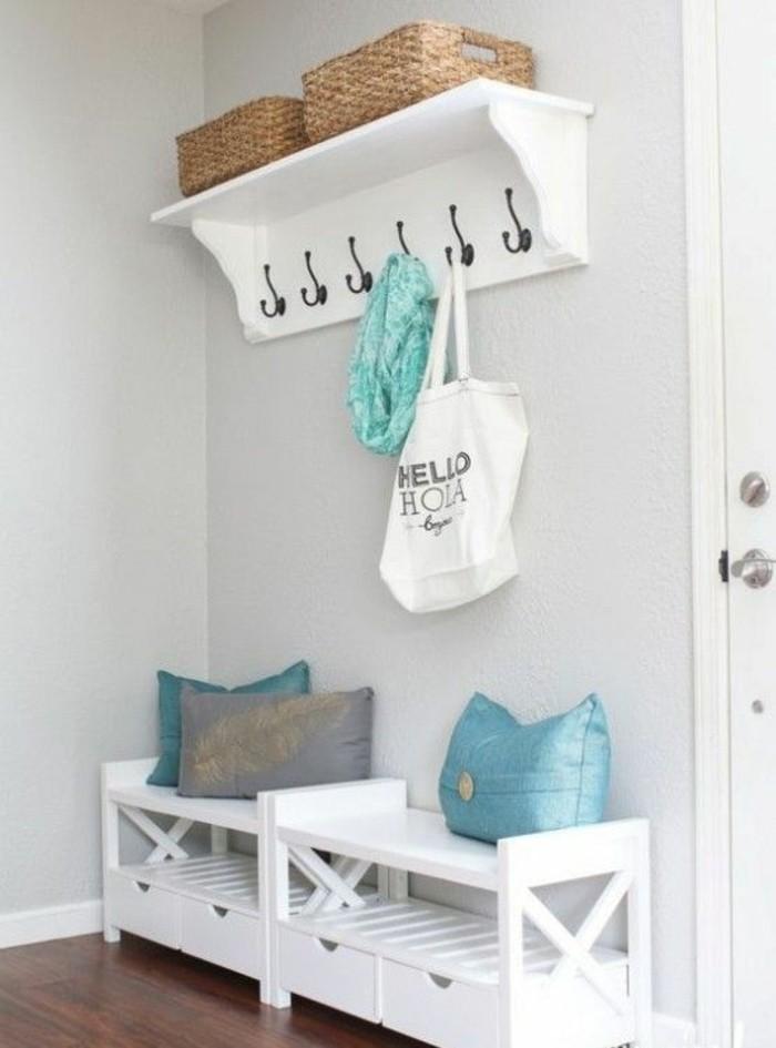 D corer un couloir plus de 70 id es en photos pour vous for Peindre sur du melamine blanc