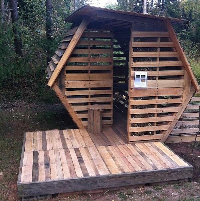 Fabriquer une cabane en bois pas cher for Cabane de jardin en bois design