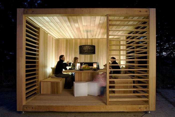 Abris De Jardin Design - Abri de Jardin Bois Design 19mm Relax ...