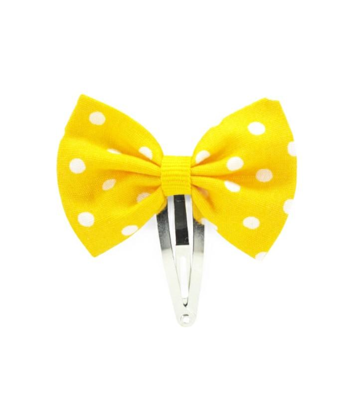 accessoires-cheveux-fille-luciole-et-petit-pois-barrette-jaune-a-pois-blancs-resized