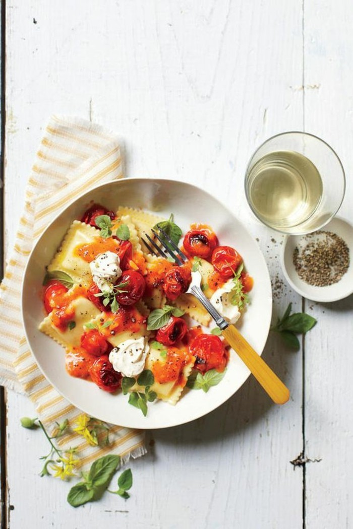 adorable-idee-de-repas-romantique-diner-saint-valentin-ricotta