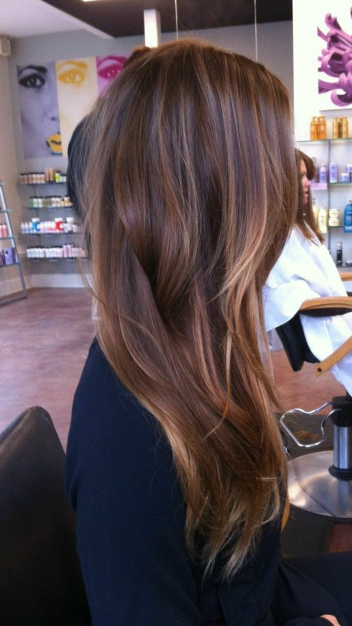 couleur balayage brune | boutique cheval