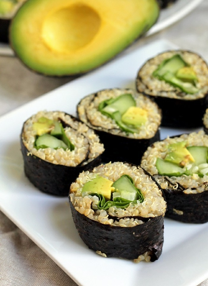 Manger sainement 5 recettes l g res pour pr parer des repas simples et rapides - Comment faire des sushi ...
