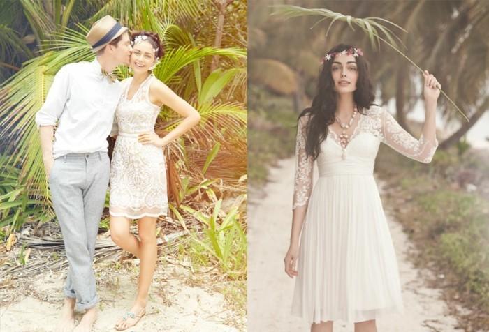 Idée quelle robe de mariée bohème chic choisir pour le mariage ...