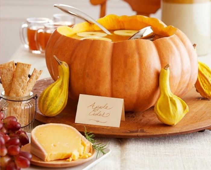 belle-image-citrouille-bol-admirable-idee-organiser-soiree-halloween