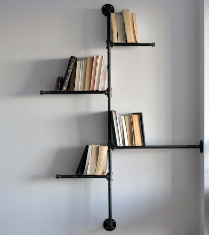 Tag re en fer forg pour une d co pleine de caract re - Etagere metal design ...
