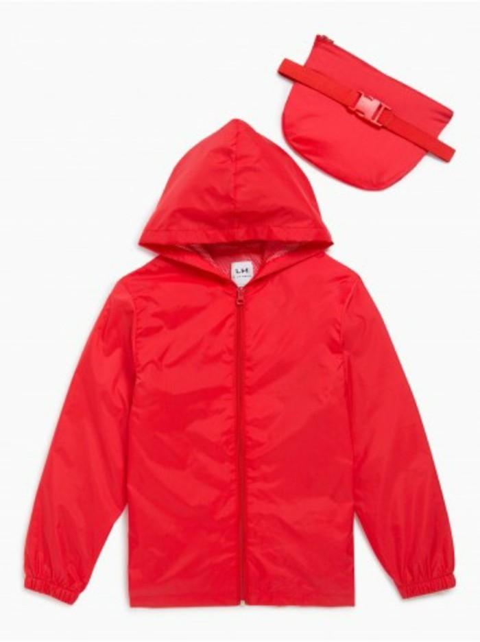 blouson-enfant-coupe-vent-rouge-avec-pochette-de-rangement-la-halle-resized