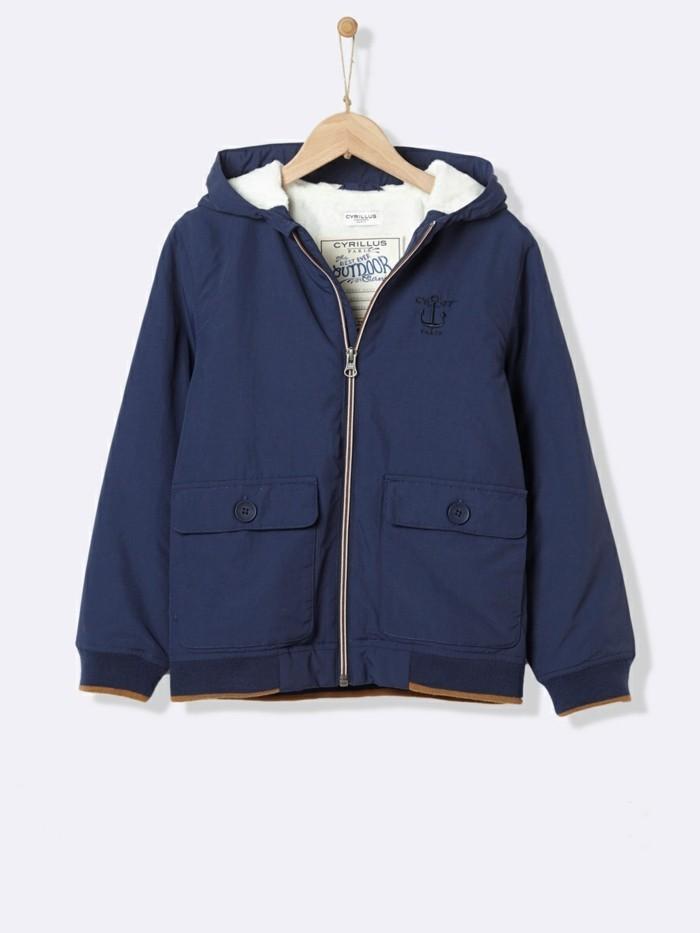 blouson-enfant-veste-cyrillus-avec-capuche-en-bleu-marine-resized