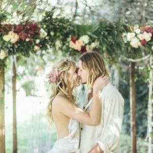 73 images pour choisir la meilleure robe de mariée bohème chic