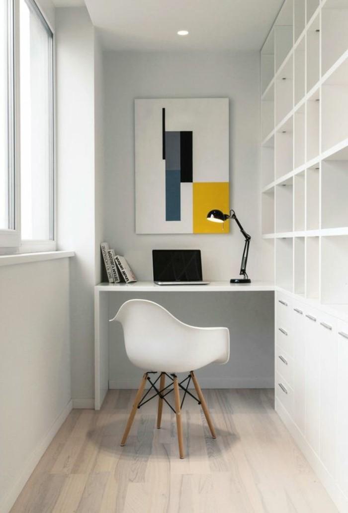 bureau-laque-blanc-design-suspendu-de-bureau-blanc